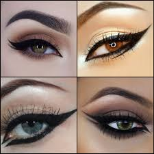 the dramatic styles of the cat eye liner