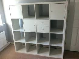 ikea shelving unit shelving unit white with drawers and doors in oak ikea kallax shelving unit