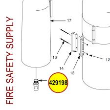 Ansul Nozzle Chart 429198 Ansul Sentry Nozzle Orifice