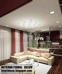 ceiling lighting design. suspended ceiling false spot light lighting design for living n