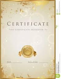 congratulations certificate templates psd gold design certificate template blank