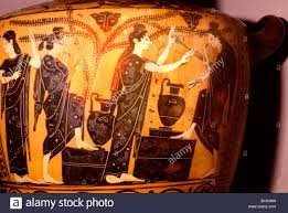 Small Picture Ancient Greek Pottery Women Coloring Coloring Pages