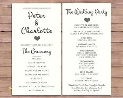 Wedding Booklet Template Wedding Ceremony Template Beautiful The Best Booklet