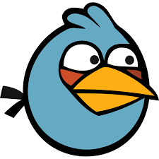 PNG Angry Bird Blue   Angry birds blues, Angry birds, Blue icon
