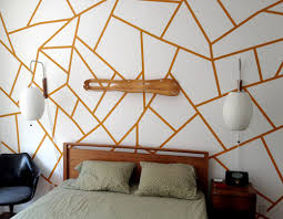Small Picture DIY Project Geometric Painted Wall DesignSponge
