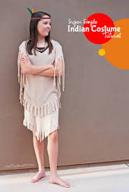 you won t believe how easy it is to make this indian costume it s