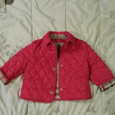 58% off Burberry Other - Authentic Burberry Baby Quilted Jacket ... & Authentic Burberry Baby Quilted Jacket Pink Adamdwight.com