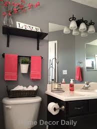 stunning red bathroom design ideas and bathroom decorations kids wall decor ideas small art accents for