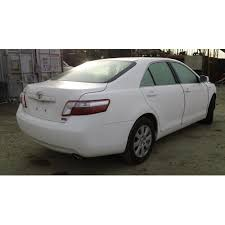 toyota camry 2007 white. used 2007 toyota camry parts car white with gray interior 4 cylinder engine automatic transmission