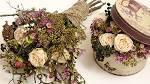 Живые цветы в коробке своими руками
