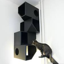 catissa by mojorno contemporary fourstory house for urban cats cat tree o75