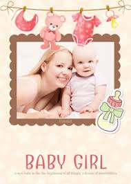 newborn baby announcement sample baby cards make free printable new baby cards online fotojet