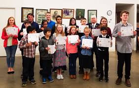custer vfw post recognizes student essay contest winners custer vfw voice of democracy winners photo custer vfw auxiliary 9474