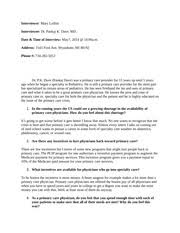 monroes motivated sequence outline week mary lollini monroes  2 pages interview assignment mary lollini