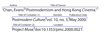 Mla 10 Online Sources Citing Information Libguides At University Of