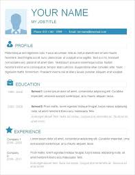 Official Resume Format Download – Armni.co