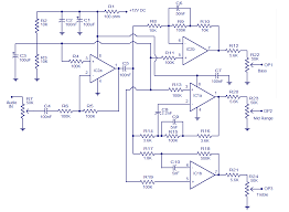 3 way active cross over network electronic circuits and diagram 3 band tone control circuit
