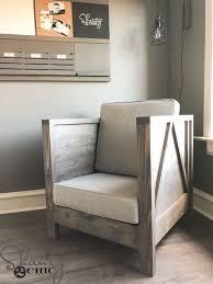 diy living room furniture. Perfect Room DIY Farmhouse Club Chair  Living Room Decor Ideas Budget Friendly  Home To Diy Living Room Furniture T