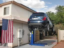photos of car lift diy