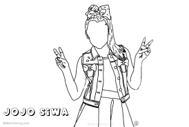 Jojo Siwa Coloring Pages Drawing By Autumnarendelle Free Printable