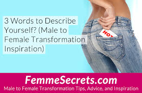 Describe Yourself In 3 Words 3 Words To Describe Yourself Male To Female Transformation