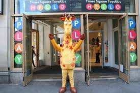 the temporary toys r us in times square was in the famous knickerbocker building