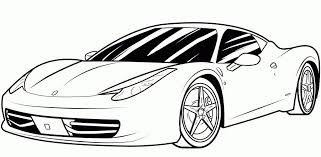 Unlock Car To Color New Pictures Of Race Cars Coloring Pages Printable