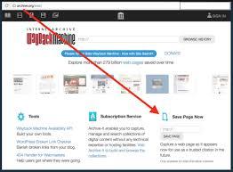 Citing Websites