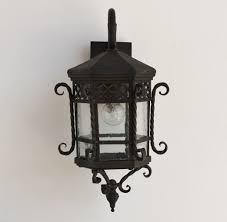 Lights Of Tuscany Spanish Style Iron Outdoor Lanternlamp