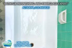 bathtub refinishing reglazing altadena