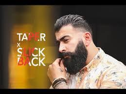 tapper slick back hairstyle men s