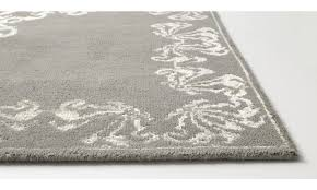 rectangular rugs niska rug rectangular grey fabric
