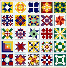 Quilt Patterns For Barn Art Simple Panes Of Art Barn Quilts Hand Painted Windows Window Art