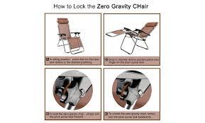 off on 3 pcs zero gravity chair pati