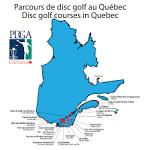 Parcours - Disc Golf Sherbrooke
