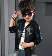 toddler boy leather jacket kids boys jackets slim motorcycle biker coat faux toddler boy leather jacket