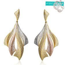 delightful cubic zirconia chandelier earrings gold leverback earring findings present for a 17