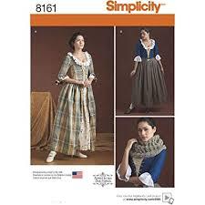 18th Century Dress Pattern