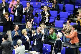 Allemagne Vote Historique Au Bundestag Berlin Adopte Le Mariage