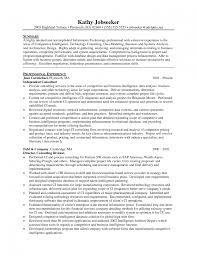 Sample Management Consultant Resume it consultant resume example senior operations manager executive 48