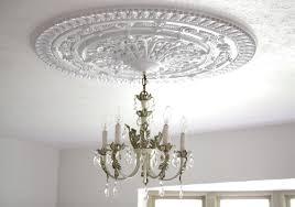Image result for medallion on ceiling for light fixture