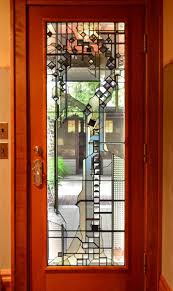 Artistic Door Design The Art Of A Glass Door Design For The Arts Crafts House