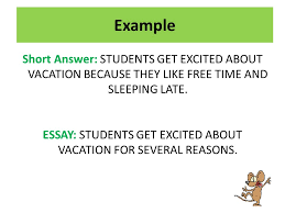 rat restate answer the question tell why why rat systematic way  example short answer students get excited about vacation because they like time and sleeping