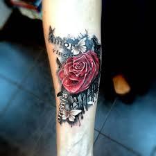 художественная татуировка на предплечье выполнена одним с Flickr