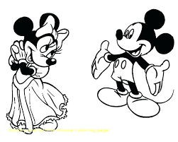 Mini Mouse Coloring Page Free Printable Mouse Coloring Pages Mouse