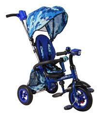 <b>Велосипед трехколесный</b> JUNIOR-2, <b>синий</b> купить в интернет ...