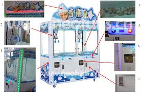 Ice Cream Vending Machine Manufacturers Gorgeous Ice Cream Claw Crane Machine NFP48Crane Game Machine On Sale
