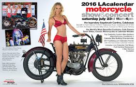 FastDates The Los Angeles Calendar Motorcycle Show Press.