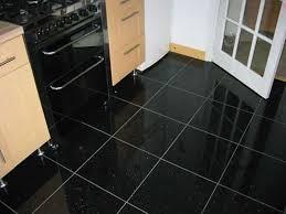 kitchen with black granite floor tiles the benefits of granite