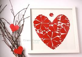 3d wall paper art wedding 3d framed guest book with many paper hearts st on 3d paper heart wall art with amazon 3d wall paper art wedding 3d framed guest book with